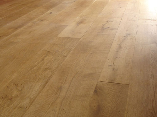 Wood Floor Commercial - Click to Return to Gallery